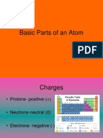 12 basic parts of an atom