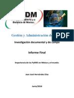 Gestión y Administración de PyMe