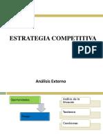 (7) Estrategia Competitiva