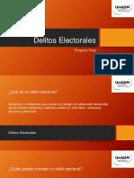 Presentacion Delitos Electorales
