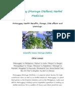Malunggay Literature