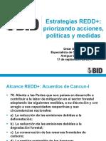 5estrategias Redd Priorizando Acciones Politicas Medidas