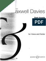 Maxwell Davies - Dark Angel