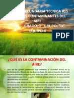 quimicos contaminantes