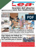Periódico Lea Martes 12 de Junio Del 2018