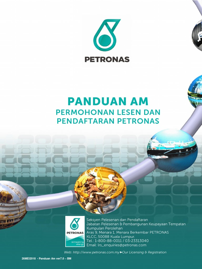 Petronas Licensing And Registration General Guidelines