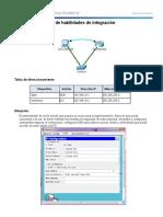 11.6.1.2 Packet Tracer - Skills Integration Challenge Instructions IG
