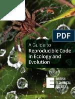 Guide to Reproducible Code