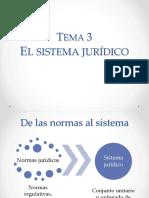 (05) El Sistema Jurídico (1)