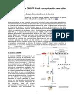 Acerca Del Sistema CRISPR Cas9 y Su Aplicación Para Editar Genesv2