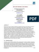 Cognitive and Autonomic Cyber Defense