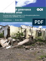 Disaster Risk Governance in Volcanic Areas