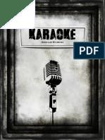Karaoke Song Book Cover
