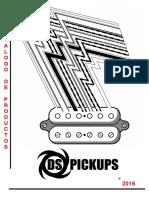 DS Pickups - Catalogo de Productos 2016