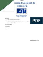 Produccion Capitulo V
