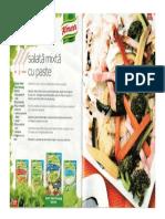 Salata Mixta Cu Paste