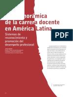 Panoramica Carrera Docente America Latina