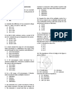 Instrumentation Sample Problems (1)