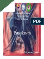 5 Estequiometría