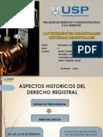 Diapositiva - Derecho Registral