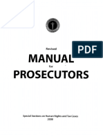 NPS Prosecutors Manual 2008 Philippines