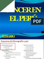Cancer en El Peru- Epidemio