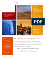 10 Must See of Morocco