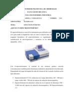 CONSULTA 4 espectrofotometro