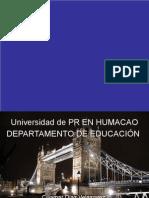 Universidad de PR EN HUMACAO inglatera presentation