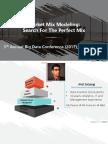 Market Mix Modeling