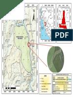 Mapa de ubicación Catarata Quinceañera - PNTM