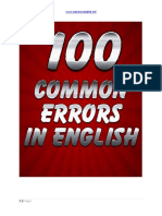 371308165 100 Common Errors in English PDF