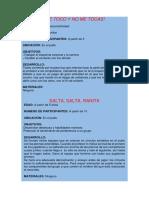 Juegos de Psicomotricidad PDF