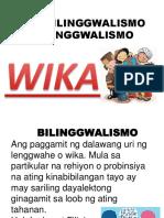 MULTILINGGWALISMO