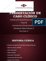 Presentación de Caso Clínico Protesis