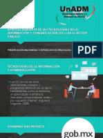 Presentación Aprovechamiento de Las TICs en El Sector Público
