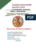 Determinacion de La Dureza y Resiliencia