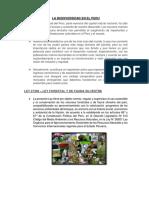 La Biodiversidad en El Peru