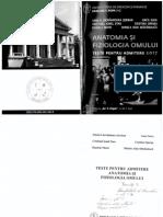 Anatomia Si Fiziologia Omului Admitere Iasi 2017
