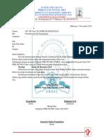 Surat Peminjaman Alat Panitia Natal 2015