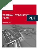 Terminal Evacuation Plan