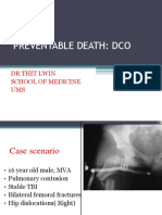 Preventable Death;DCO