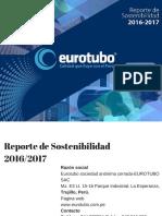 Reporte de Sostenibilidad  Eurotubo