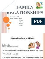 Family Relationship (IPW)