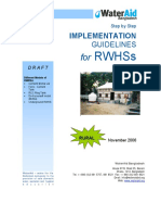Rainwater Harvesting Systems Implementation Rural