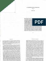 N.Casullo, La modernidad como autorreflexión