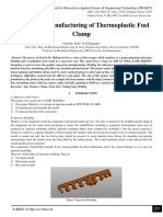 Design and Manufacturing of Thermoplastic Fuel Clamp