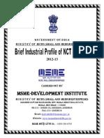 Brief Industrial Profile of Delhi