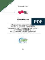 Combined Gravity Field Modeling