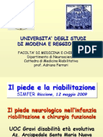 PIEDE NEUROLOGICO